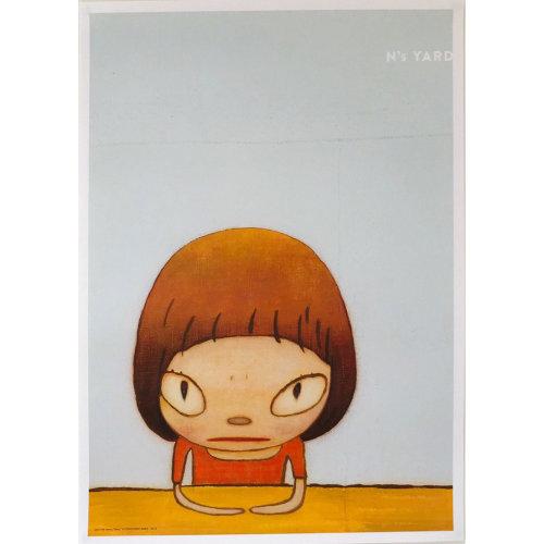 Yoshitomo Nara|N's YARD poster  Let's Talk About Glory