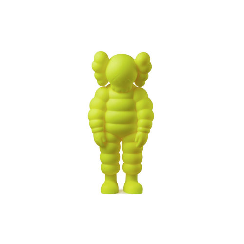 KAWS|WHAT PARTY Yellow