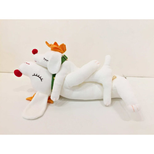 Pup King Doll 奈良美智 Yoshitomo Nara S:30 cm / M:43 cm / L:80 cm 聚酯纖維、填充物
